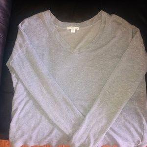 JAMES PERSE LONG-SLEEVE HEATHER SHIRT- Size 2